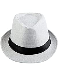a456f2cf23e KYEYGWO Panama Fedora Hats for Men Woman