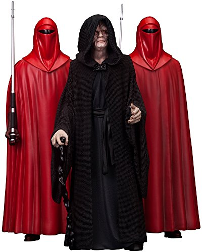 Kotobukiya Star Wars Estatuas Emperor Palpatine & The Royal Guards (ARTFX 1/10