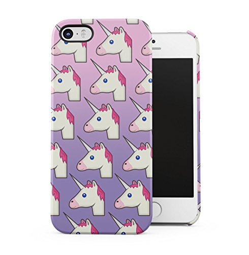 Black 99 Percent Unicorn Rainbow Colors Apple iPhone 5 , iPhone 5S , iPhone SE Snap-On Hard Plastic Protective Shell Case Cover Custodia Pastel Unicorns