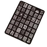 Susenstone Nail Stamping Druckplatte Maniküre-Nagel-Kunst-Dekor Bild Briefmarken Platten