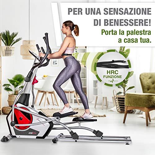 Zoom IMG-1 sportstech cyclette ellittica cx670 quick
