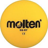 36x Molten–Pelota de gomaespuma SG de SY suave Niños Kids Balón + RS de Sports Bolígrafo, amarillo, 170g, Ø 180 mm