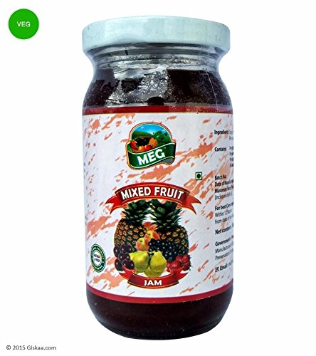 Giskaa Delicious & Fresh Mixed Fruit Jam - 250 G From Meghalaya (north-east India)