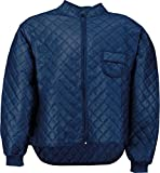 Thermo-Unterzieh-Jacke Thermojacke Thermounterwäsche mit Nierenschutz Blau Gr. S-XXXL Größe L