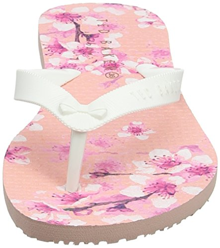 Ted Baker Beaulup, Sandali a Punta Aperta Donna Rosa (Blossom Print)