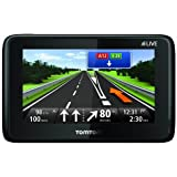 TomTom GO LIVE 1000 Navigationssystem (11 cm (4,3 Zoll) Fluid Touch Display, HD Traffic, Google, Bluetooth, Parkassistent, Europa 45)