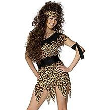 Smiffy's 28600L - Disfraz de cavernícola para mujer, talla L