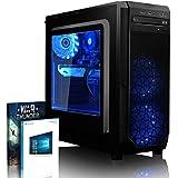 VIBOX Kaleidos GL770-22 Gaming PC - 4,5GHz Intel i7 Quad Core CPU, GTX 1070 GPU, Extremo, Ordenador de sobremesa para oficina Gaming vale de juego, con unidad central, Windows 10, 16 Color Telecontrol RGB Iluminaciàn (4,2GHz (4,5GHz Turbo) Super rápido Intel i7 7700K Quad 4-Core CPU procesador de Kabylake, Nvidia GeForce GTX 1070 8GB GPU de la Tarjeta gráfica de alto rendimiento, 16 GB 2400MHz DDR4 RAM, Unidad de estado sàlido SSD de 240GB, Disco duro 2TB, 85+ PSU 600W, CIT Negro)