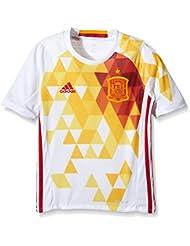 adidas Espagne Extérieur Replica UEFA Euro 2016 Maillot manches courtes Garçon