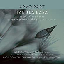 Tabula Rasa/Concerto for 2 Violins