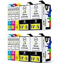 Colorwd Cartucce d'inchiostro Compatibili Epson 27XL Alta Capacità (T2791 T2712
