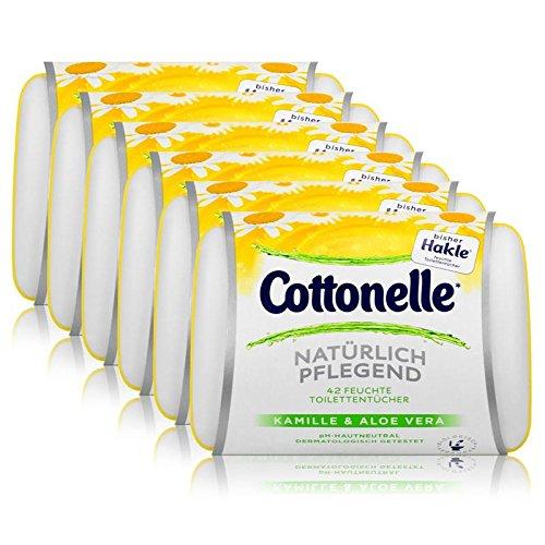 6x-hakle-cottonelle-feuchte-toilettentucher-kamille-aloe-vera-42-tucher-starterset