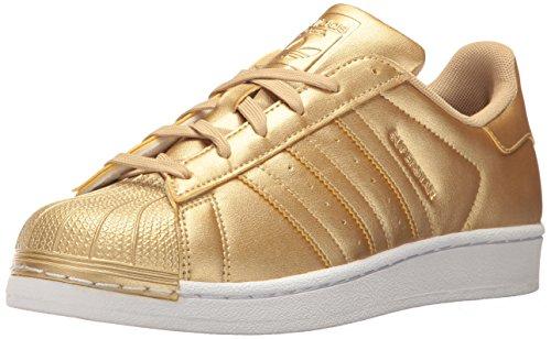 adidas C77154, Jungen Kurzschaft Stiefel, Gold - Goldmt, Goldmt, Goldmt - Größe: Medium 40 EU