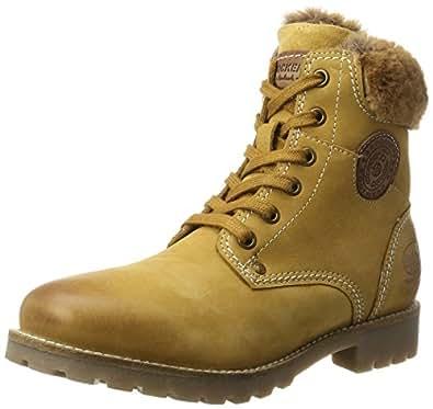 Dockers by Gerli 41hl301-350, Desert Boots Femme, Jaune (Golden Tan), 37 EU