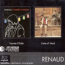 Coffret 2 CD : Tournée d'enfer / Cante El' Nord