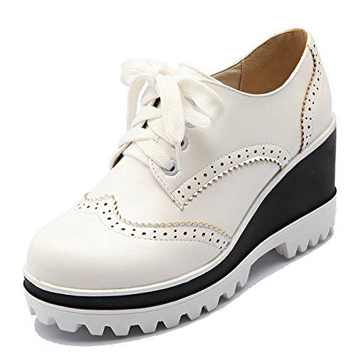 Chaussures à lacets BalaMasa blanches femme ZHLi1Xr