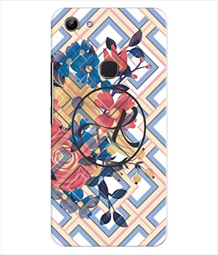 Inktree® Printed Designer Silicon Back Cover for Vivo Y81 - Alphabet K