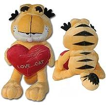 PTS Peluche Felpa de Garfield Gato con Corazon 22cm Original