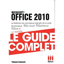GUIDE COMPLET POCHE OFFICE 2010
