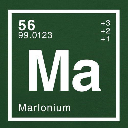 Marlon Periodensystem - Herren T-Shirt - 13 Farben Flaschengrün