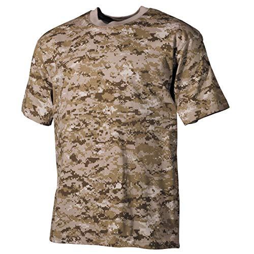 Cord Herren-shirt (MFH US Army Herren Tarn T-Shirt (Digital Desert/M))