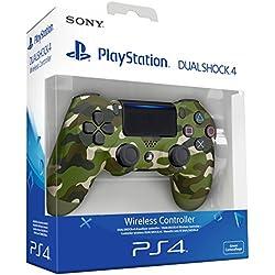 Sony - Dualshock 4 V2 - Mando Inalámbrico Verde Camuflaje