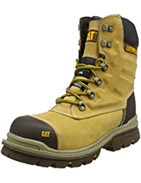 "Caterpillar Men''s Premier 8"" Wr Tx Ct S3 HRO SRC Safety Boots"