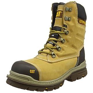 """caterpillar men's premier 8"""" wr tx ct s3 hro src safety boots - 51W9V79owTL - CAT Footwear Men's Premier 8 Inch Wr Tx Ct S3 HRO Src Safety Boots"""