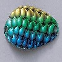 Acme Piccola Cleo Pesca Terminal Tackle, 1/4-Ounce, martellato Blu Verde Oro