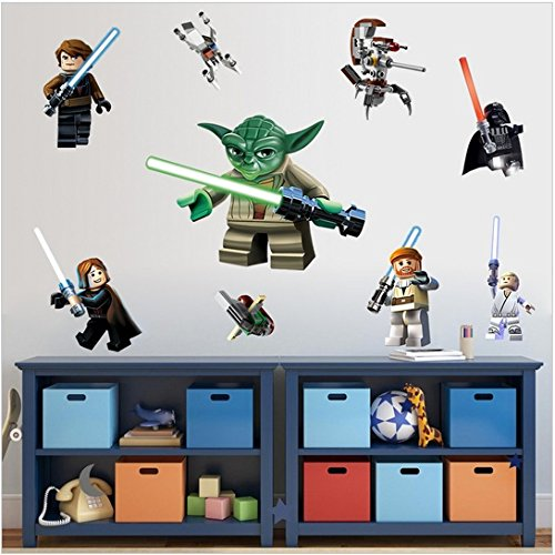 Lego Star Wars Wall Sticker Vinyl Art Home Decal Boy Kid Room Removable Decor Buy Online In Gibraltar At Desertcart