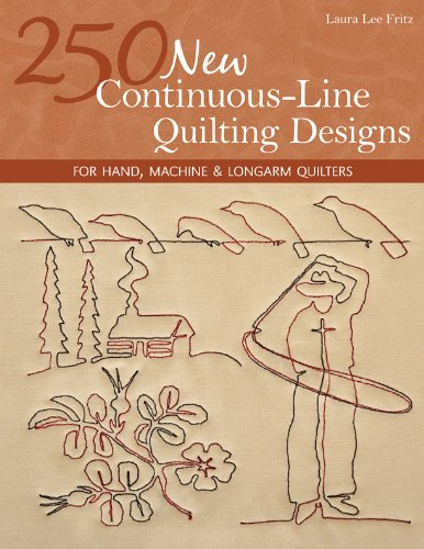 250 New Continuous-Line Quilting Designs: For Hand, Machine & Longarm Quilters (English Edition) -