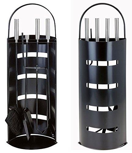 5-delige Home & Styling Openhaardset (Zwart)