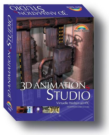 3D-AnimationsStudio: Virtuelle Welten am PC (M+T Software)
