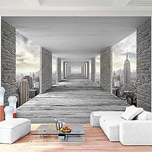 fototapete 3d new york vlies wand tapete wohnzimmer schlafzimmer b ro flur dekoration wandbilder. Black Bedroom Furniture Sets. Home Design Ideas