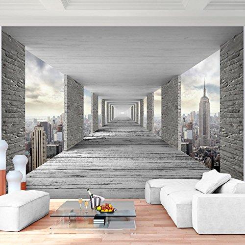 Fototapete 3D New York 352 X 250 Cm Vlies Wand Tapete Wohnzimmer  Schlafzimmer Büro Flur Dekoration Wandbilder XXL Moderne Wanddeko   100%  MADE IN GERMANY ...