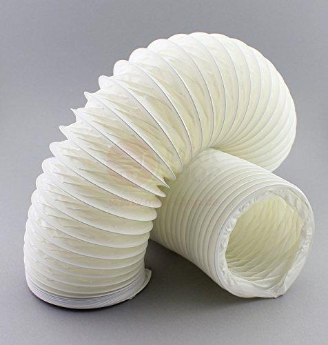 PVC Flexrohr Flex Flexibler Ø 125 mm 12,5 cm Rohr 1 m Meter Länge Flexschlauch Schlauch Abzug