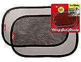 Auto Sonnenblenden - Doppelpack - Selbsthaftende Fenster- Sonnenblenden aus Premium