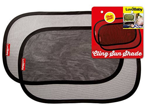 Car Sun Shades – Set de 2 unidades parasoles...