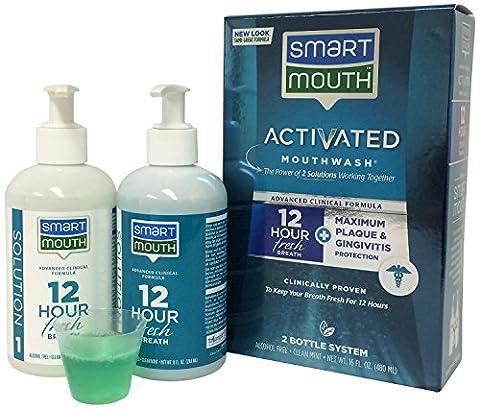 Smart Mouth Advanced Clinical Formula Activated Mouthwash Fresh Mint - 16 Fl Oz