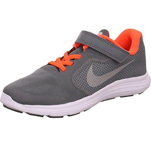 Nike NIKE REVOLUTION 3 (PSV) 819414 012 Jungen Klettverschluss/Slipper Halbschuh sportlicher Boden, Größe 33.0 (Nike Schuhe Größe 4)