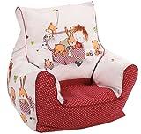 knorr-baby 450166 Kindersitzsack Spielzimmer, rot