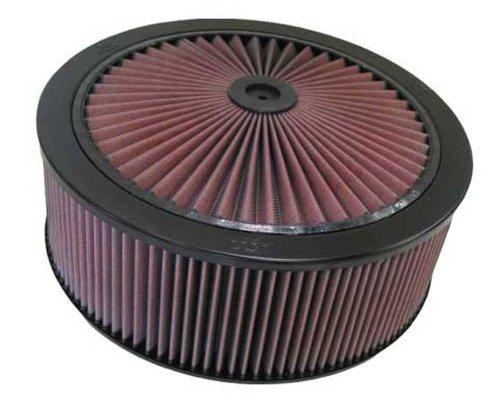 66-3030 K & N X-Stream assemblée Top 5-1/8 FLG, 35,6 cm D, 16,8 cm H Vent W/X-Stream universel de dessus (filtres à air)