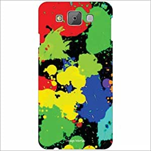Design Worlds - Samsung Galaxy E7 Designer Back Cover Case - Multicolor Pho...