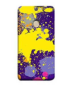 PrintVisa Designer Back Case Cover for Coolpad Max A8 (Painted Animated Design Flowers Nature)