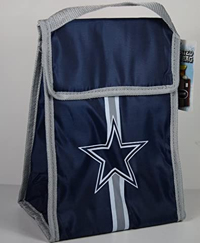 Dallas Cowboys NFL Insulated Velcro Lunch Cooler Bag