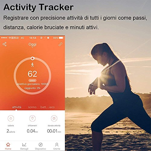 Zoom IMG-1 willful orologio fitness tracker cardiofrequenzimetro