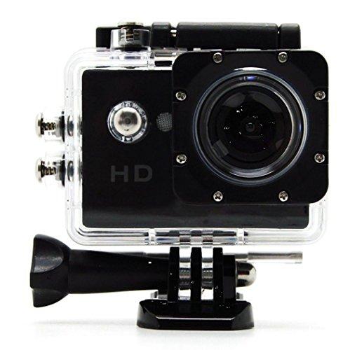 Sj4000 Auto-kamera Wasserdicht (Goldfox Actioncam Unterwassergehäuse Wasserdichte Camcorder Gehäuse Wasserfest Schützhülle für SJ4000 SJ5000 Sport kamera Fahrrad Motorrad Tauchen Schwimmen und andere Outdoor Sportaktivitäten)