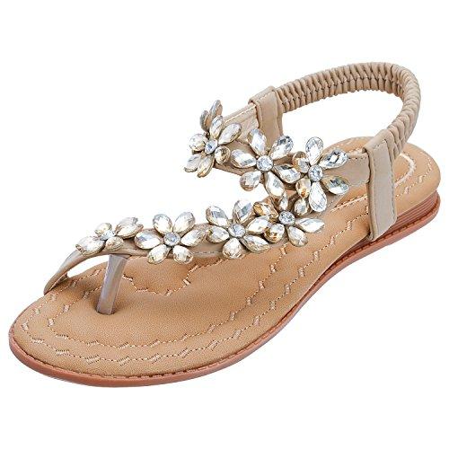 SANMIO Women Summer Flat Sandals...