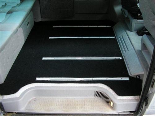 Preisvergleich Produktbild DSX 363 Passform Gastraum-Matte, Schwarz