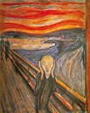 1art1 82965 Edvard Munch - Der Schrei, 1893 Poster Kunstdruck 50 x 40 cm